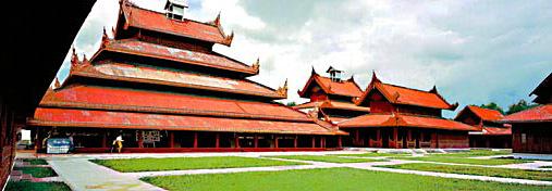Mandalay Palace Pricinct