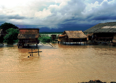 irrawaddy delta stilt houses