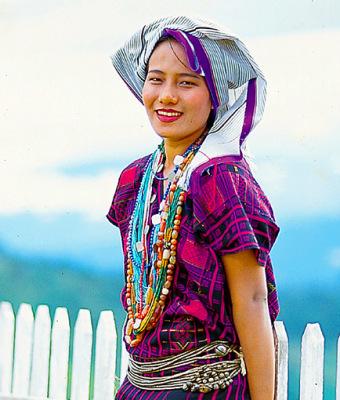tribal chin girl