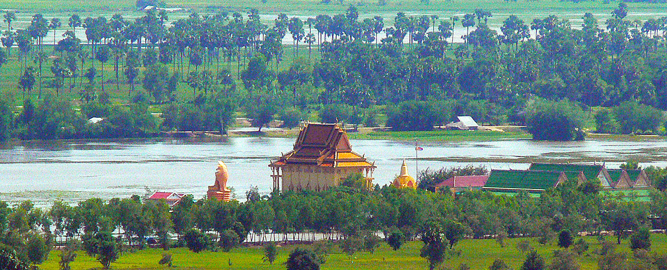 View from Phnom Chisor