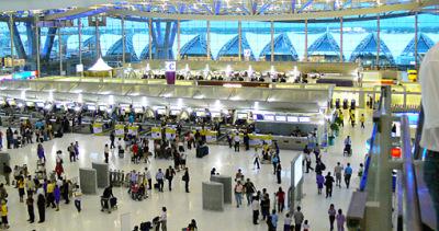 Bangkok Airport departure