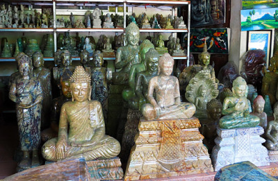 cambodian art shop