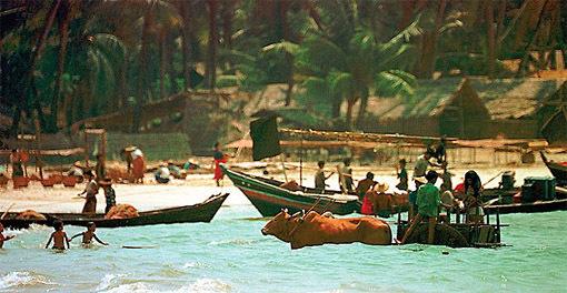Ngapali Beach fishermen