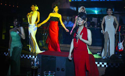 Southeast Asian TV cabaret at Beach Club
