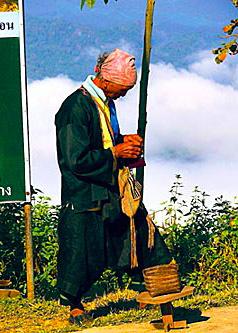 Black Lahu men living there