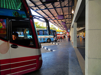 start at the Phuket Bus terminal