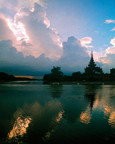 Mandalay Myanmar Sunset