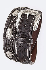 Men's Concho  and Braids WS27 $59