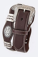 Men's Oval Concho Top WS27 $59