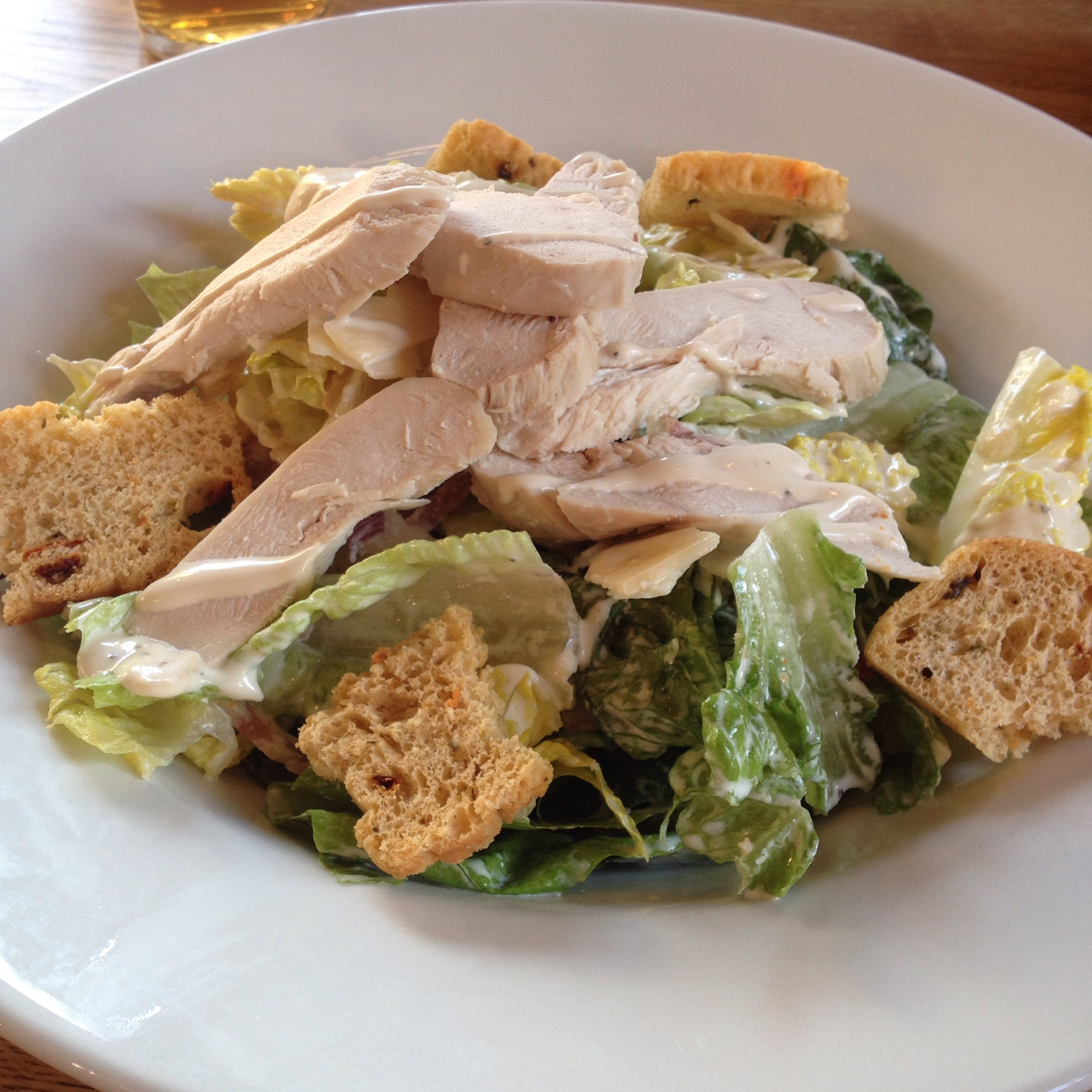Chicken Caeser Salad Recipe