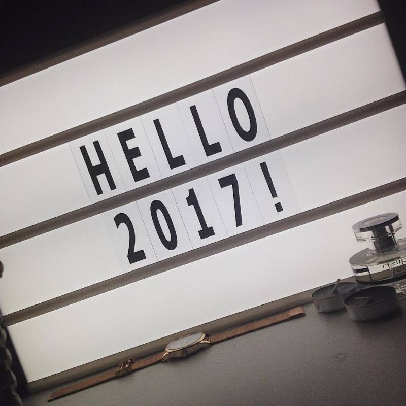 Goodbye 2016, Hello 2017!