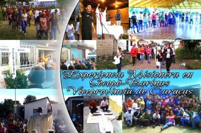 Experiencia Misionera en Socopò-Barinas Viceprovincia de Caracas