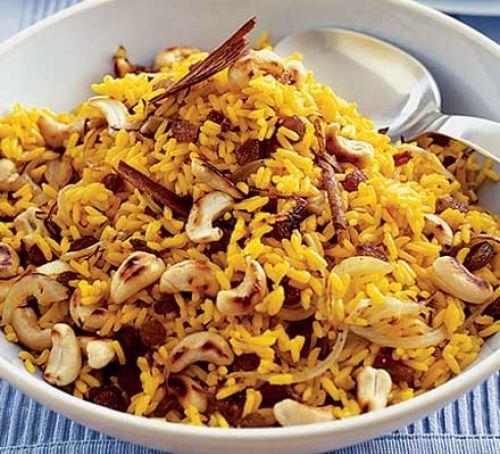 Fried Rice with Cashew nut