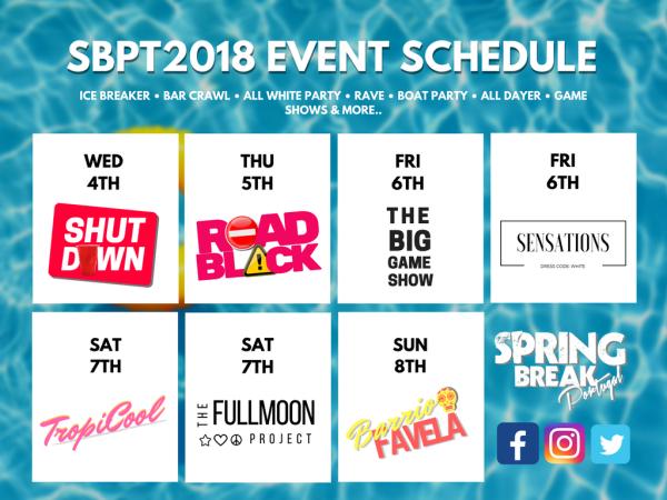 SBPT2018 EVENT SCHEDULE IS HERE!