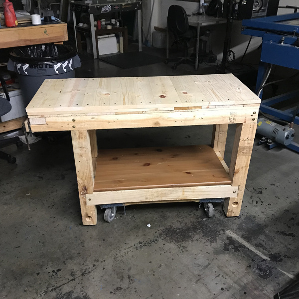 "20"" x 48"" Workbench"