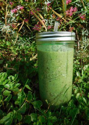 Green kiwi smoothie