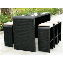 7 Piece bar set