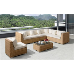 8 piece corner couch set
