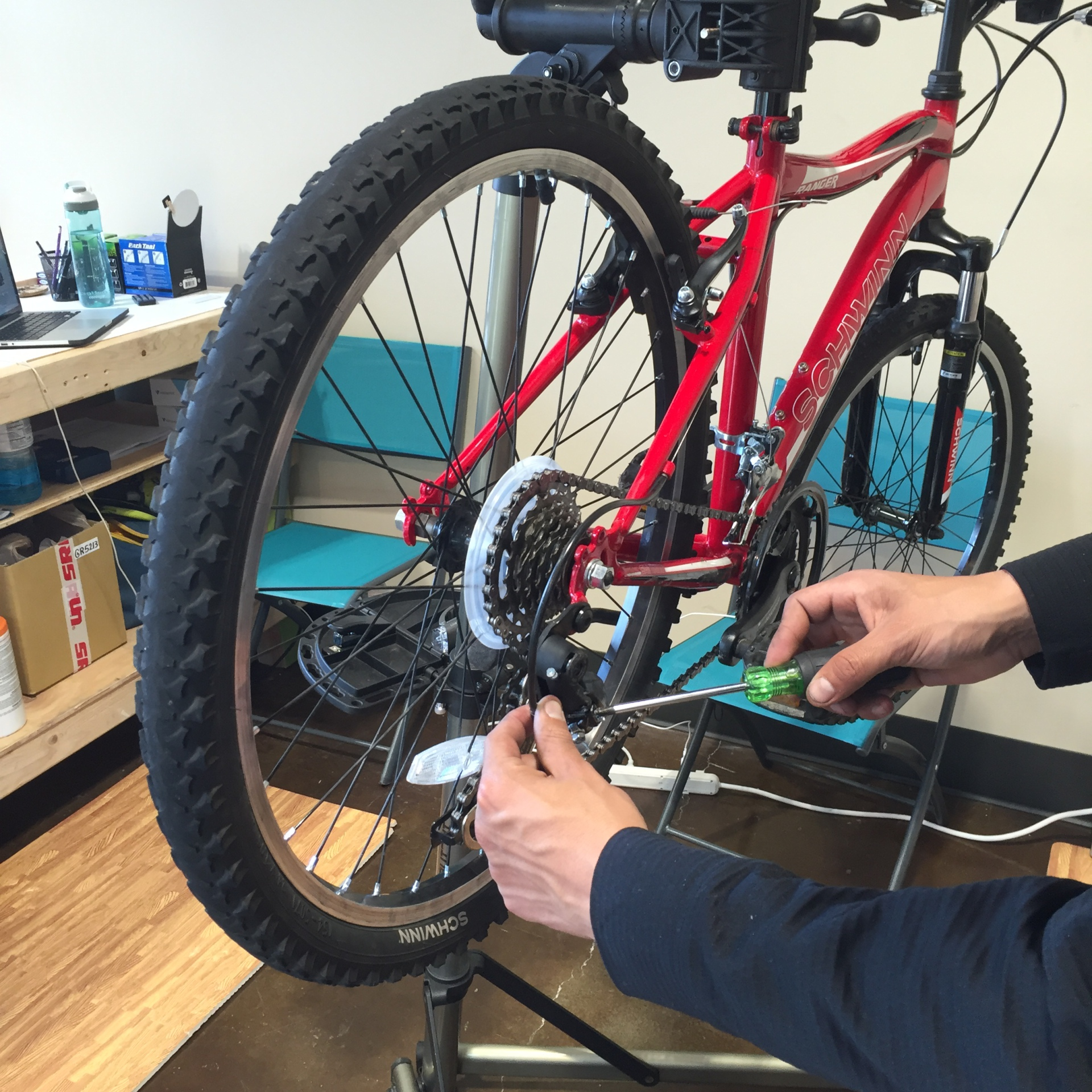 Derailleur Adjustment