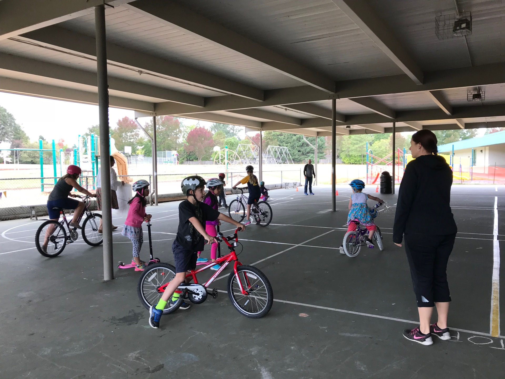 Bethany Elementary School Bicycle Safety Event