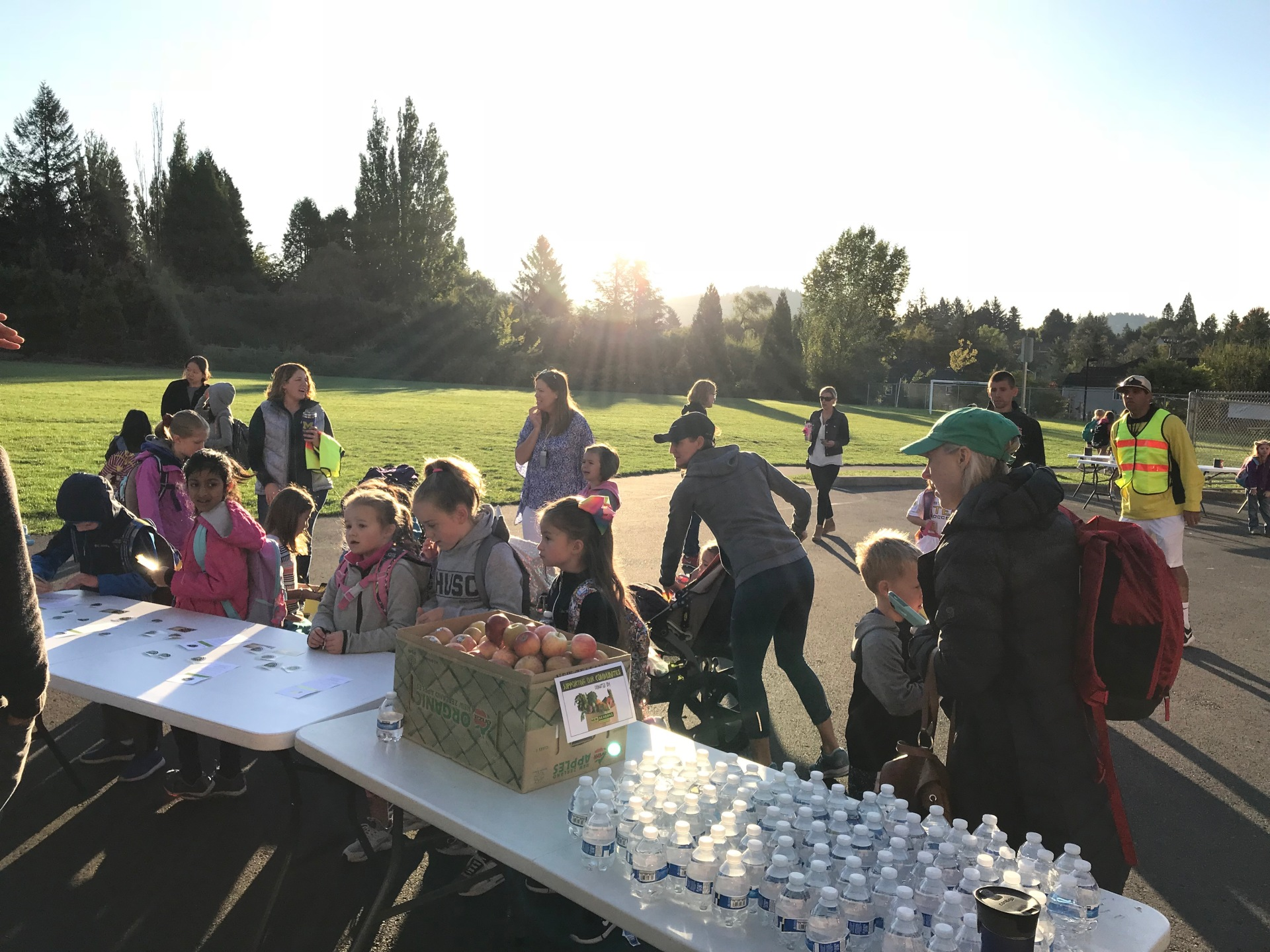 Bonnie Slope Elementary School Walk & Bike to School Event