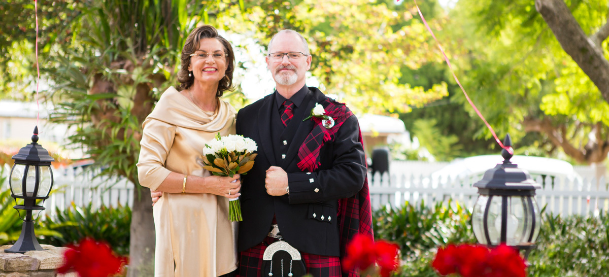 Nicola & Alistair | Wedding Artworks | Family Backyard | Toowoomba Wedding Photography