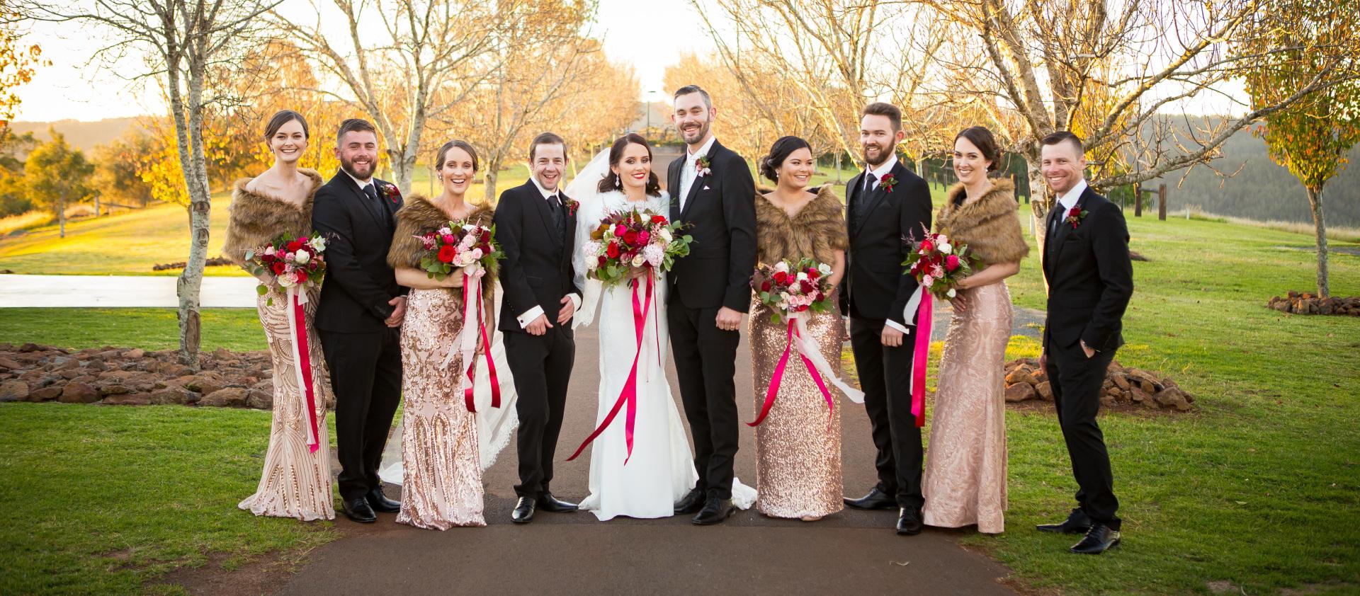 Rebecca & Tom   Preston Peak Functions   Toowoomba Wedding Photography   Wedding Artworks