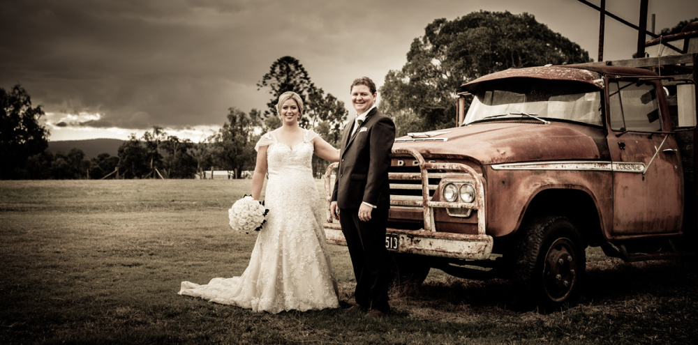 Courtney & Brent | Family Property | Gatton Wedding Photography
