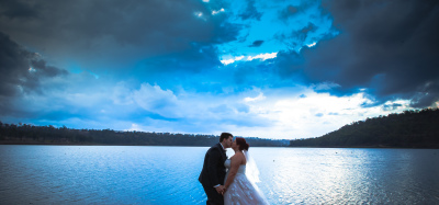 Josh & Bec | Reflections – Lake Cooby | Wet Weather Wedding Photography | Darling Downs Wedding Phot