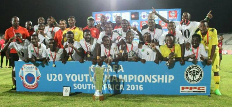 Solomon Sakala captains Zambia  U-20 to Cosafa title
