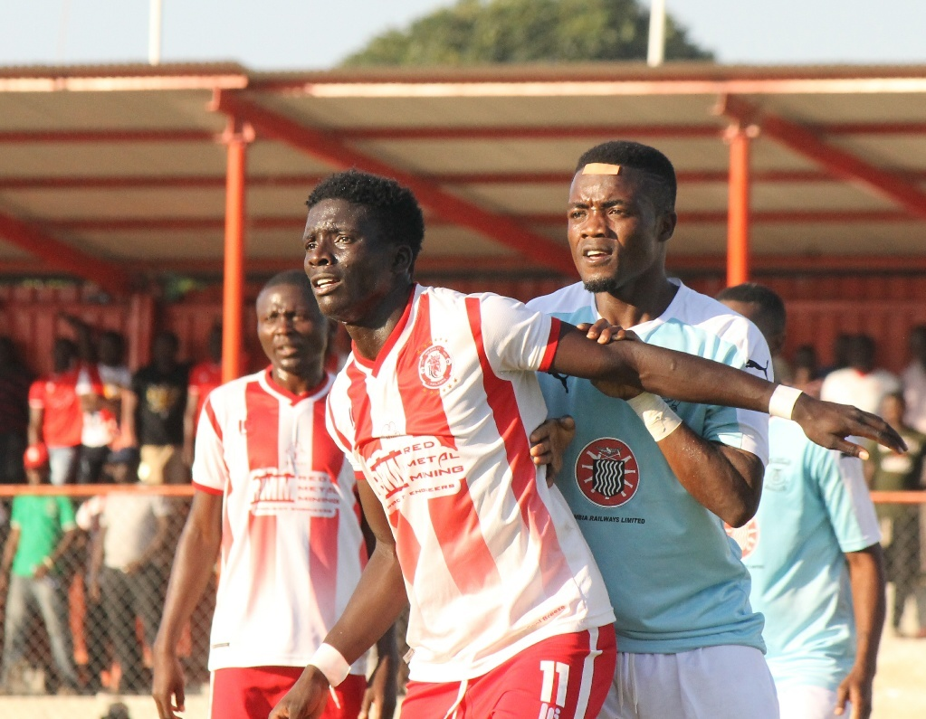 Warriors come from behind to draw at Nkana
