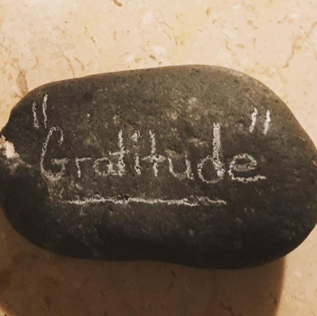 Gratitude Rock Found Me