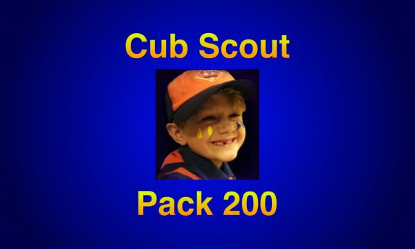Cub Scout Recruitment Night Sept 14 Grades 1-5