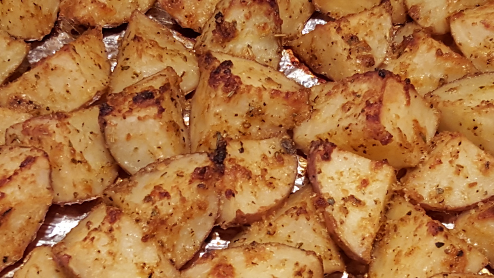 Savory Roasted Parmesan Red Potatoes