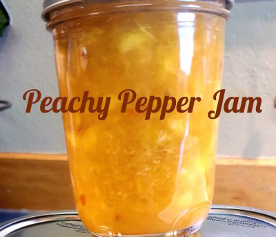 Peachy Pepper Jam
