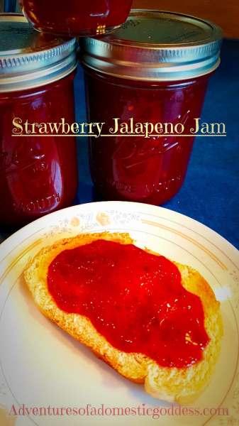 June Bug's Strawberry Jalapeño Jam