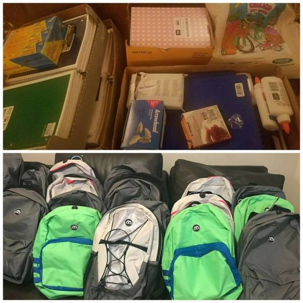 School Supplies - Donations