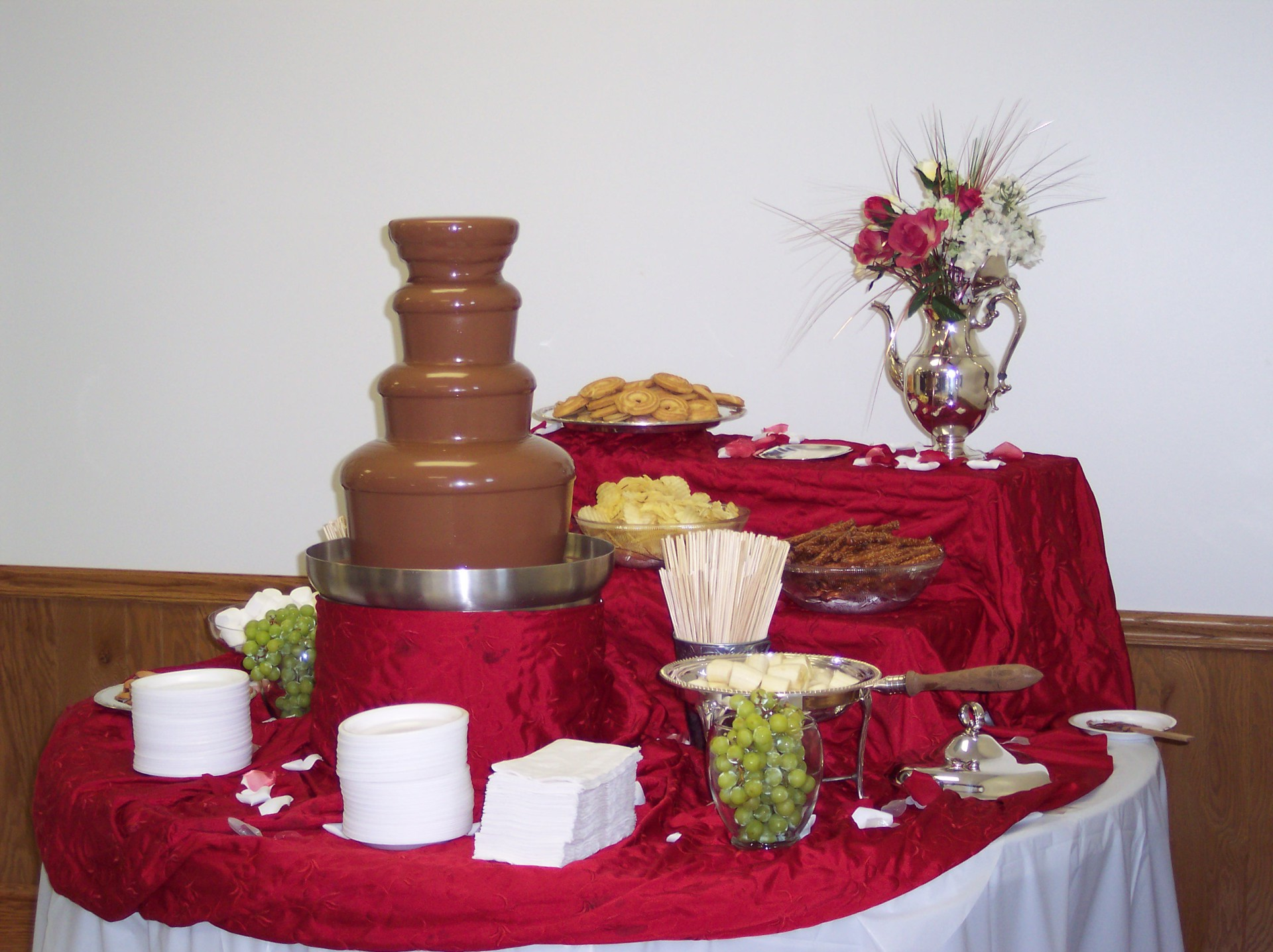 Chocolate Fountain Wedding