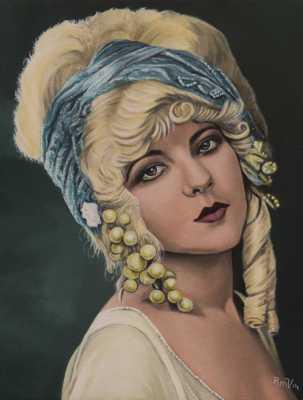 Marion Benda Rudy Vandecappelle rmvportraitsart oil painting for sale