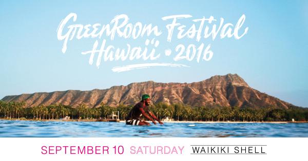 Greenroom Festival 2016