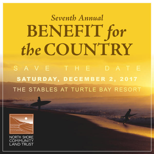 Benefit for North Shore Land Trust