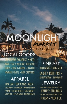 Moonlight Market at the Four Seasons Resort at Koolina