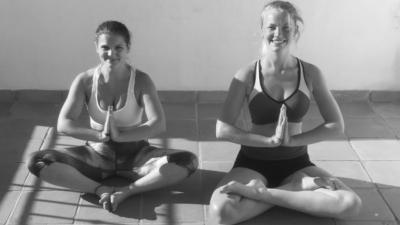 My basic yoga routine
