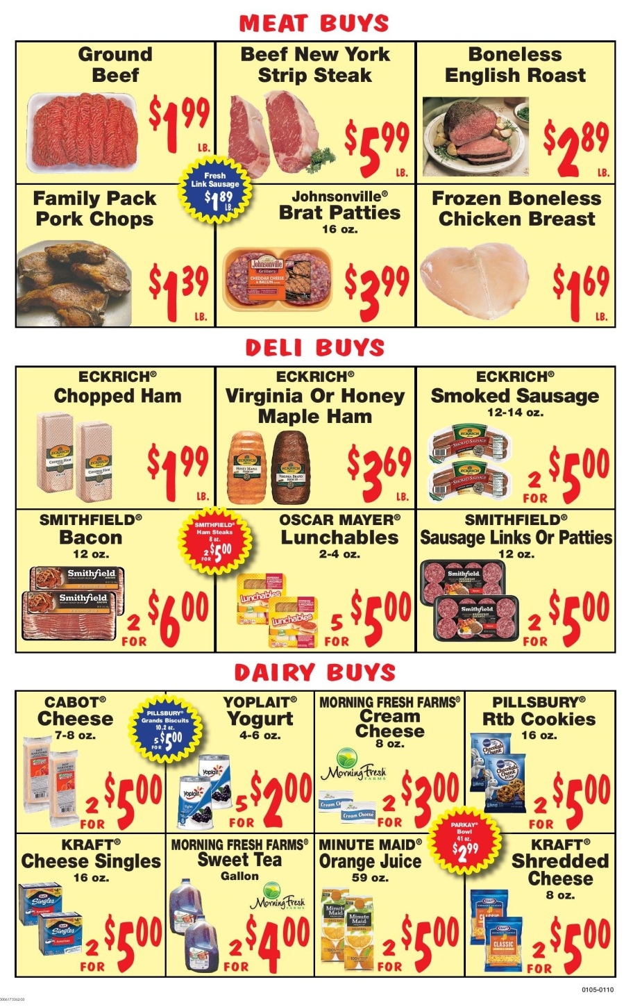 Young's Family Market weekly grocery ad