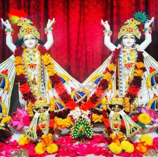 Transcendental Lordships Sri Sri Gauranga & Nityananda