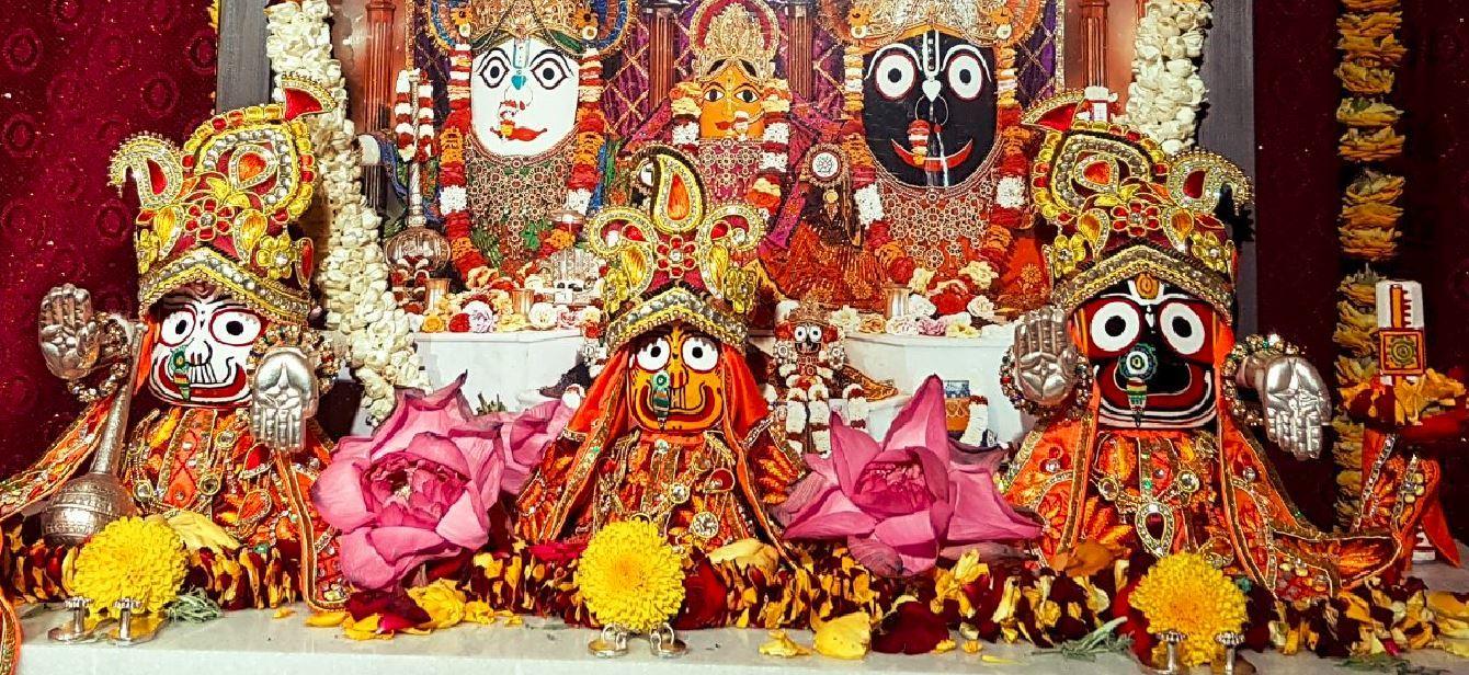Sri Sri Sri Jagannath, Baladev, Subadramayi and Sudarshana Chakra