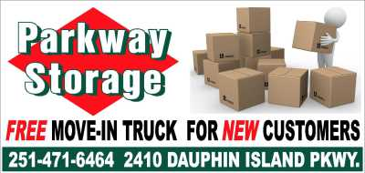 FREE MOVING TRUCK MOBILE AL STORAGE