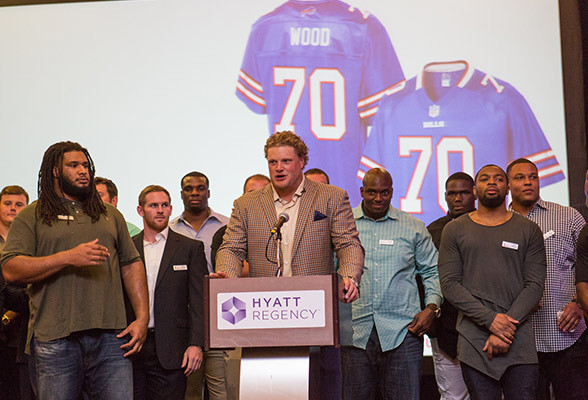 Let's Do Our Part to Help Him Out - Eric Wood 2016 Walter Payton Man of the Year