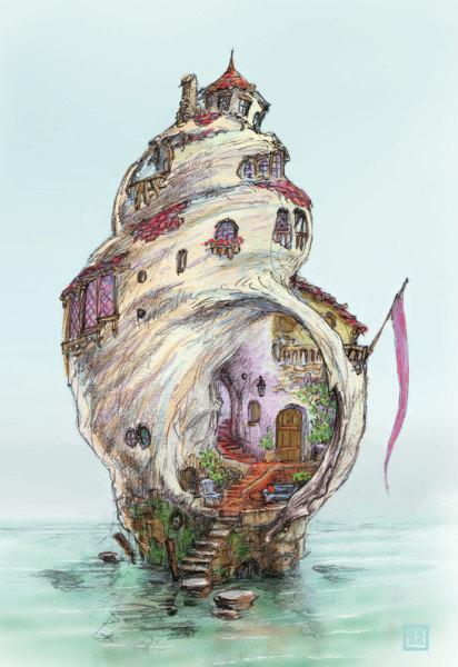Ariel's house