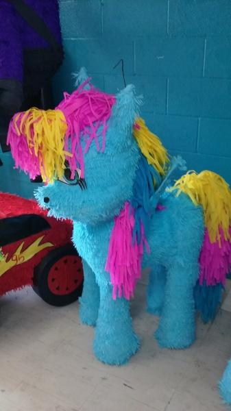 Blue Unicorn Pinata